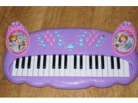 Disney Princess Sofia Electronic Keyboard