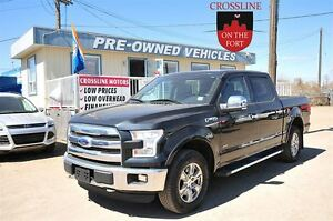 2015 Ford F-150 Lariat  w/Leather, Moonroof, Nav!