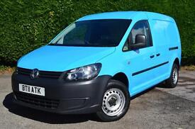 VOLKSWAGEN CADDY MAXI C20 VAN IMMACULATE CONDITION A/C PARKING SENSORS (blue) 2011