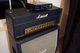 Marshall JTM-45 + Marshall 2061CX Handwired 2×12 Cabinet + Palmer PDI06 MkII attenuator