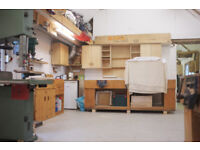 Workshop Bench Space Available - Furniture Joinery