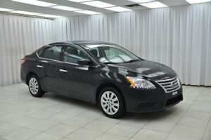 2015 Nissan Sentra 1.8S SEDAN w/ BLUETOOTH, A/C, POWER W/L/M & U