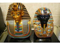 Two Egyptian Busts