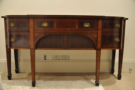Antique Mahogany Sheraton Sideboard, Wonderful Colour.