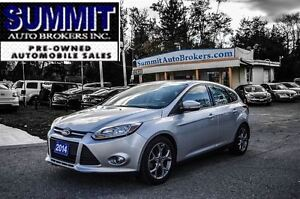 2014 Ford Focus SE | HEATED SEATS | BLUETOOTH | SUNROOF | ALLOYS