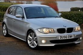 2006 BMW 1 Series 2.0 118d Sport 5dr+DIESEL+FULL SERVICE HISTORY+6 SPEEDS+LONG MOT+FREE WARRANTY
