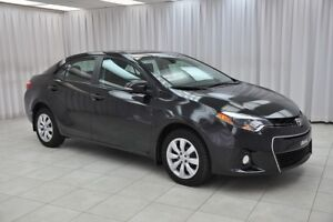 2014 Toyota Corolla S 6SPD SEDAN w/ BLUETOOTH, HEATED SEATS, USB