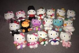 Genuine TY Hello Kitty teddy's