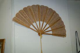 Vintage retro chinese fan