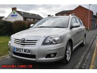 TOYOTA AVENSIS 2.2 4D T3 X 5DR (FULL SERVICE HISTORY)