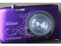 Nikon Coopix S2600 14MP Digital Camera