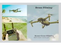 Shoot your Music Video with Drone and Digital Film camera!