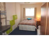 Lovely room looking onto garden in residential area