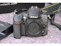 Nikon D7000 imaculate hardley used shutter count 4119 wantage oxford