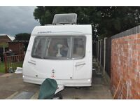 STERLING ECCLES OPAL 2007 4 BERTH CARAVAN