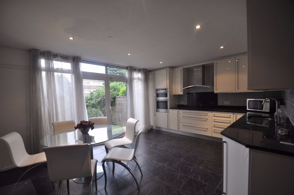 **A newly refurbished four bedroom town house arranged over three floors**