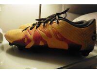 ADIDAS 15.3 X FOOTBALL BOOTS SIZE 7.5