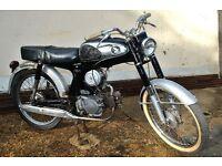 CLASSIC HONDA CB50. 1967. CAFE RACER