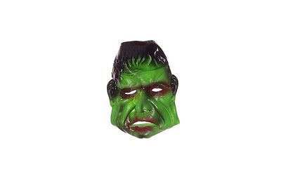 Frankenstein Boys Halloween Mask Green Monster Costume Accessory Scary Fun NEW - Green Monster Halloween Costume
