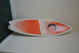 "6'4"" Surfboard. With Travel Case"