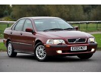 2003 Volvo S40 1.8 S 4 DOORS SALOON+ CAMBELT DONE AT 131.205 MILES+12 MONTHS MOT+4 NEW TYRES