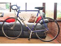 Mercian Road bike, old, vintage