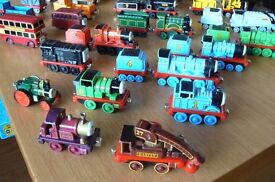 Thomas the Tank Engine Take and play T1 Rolling Stock and engines Die cast metal. 34 Pieces