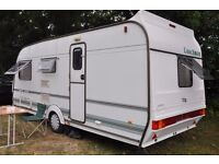 Coachman 520/4 VIP caravan Late 1999 Motormover. Air conditioning. Awning