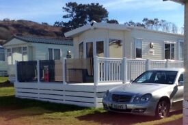 Lovely Static Caravan for sale on Aberafon 5 star in Nefyn near Abersoch Sister Park to the Warren