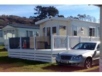 Lovely Static Caravan for sale on Aberafon 5 star in Nefyn near Abersoch Sister Park to the Warren