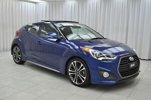 2016 Hyundai Veloster TURBO TECH 4PASS 4DR HATCH w/ LEATHER, NAV