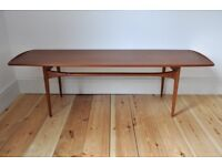 Vintage Retro 50's 60's Danish Tove & Edvard Kindt-Larsen coffee table FD-503