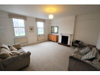 Large 3 bedroom flat on Chiswick High Road overlooking Turnham Green. Big reception, available now.