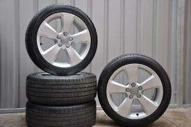 Genuine 17in Audi A3 Sport Alloys and Tyres. Suit Audi A3,VW Golf Mk5,6,7,Caddy,Passat & Jetta