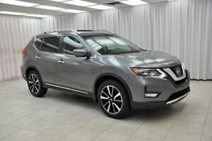 """2017 Nissan Rogue """"""""ONE OWNER"""""""" ROGUE SL PLATINUM RESERVE !!! AW"""
