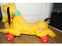 Little Tikes Disney Pluto Sit And Ride On Toy Car