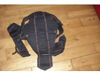 """BABYBJORN"" NAVY BABY CARRIER IN GOOD CONDITION"