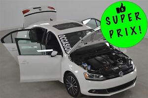 2013 Volkswagen Jetta 2.5L Highline Cuir+Mags+Toit Ouvrant Autom
