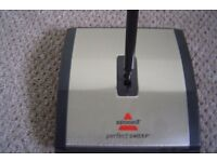 Manual Bissell carpet sweeper