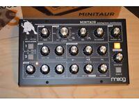 Moog Minitaur Boxed