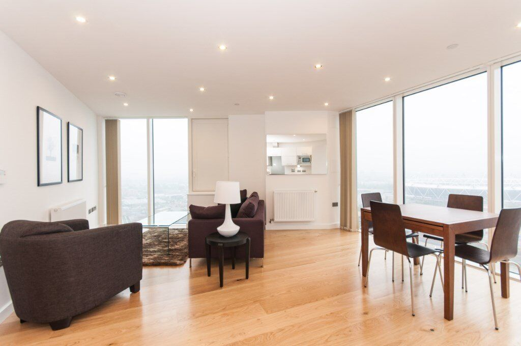 LUXURY 2 BED 2 BATH HALO TOWER E15 STRATFORD BOW CHURCH ROAD BROMLEY PUDDING MILL LANE CANARY WHARF