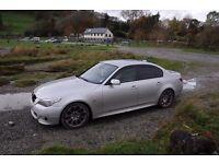 BMW 535d M-SPORT SILVER