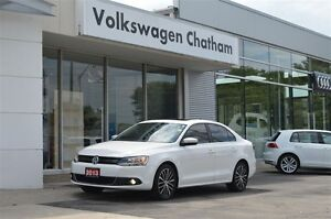 2013 Volkswagen Jetta Highline Navigation Heated Leather Sunroof