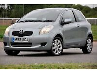 2008 Toyota Yaris 1.4 D-4D TR 3dr+TAX £30 PER YEAR+CHEAP TO RUN+1 OWNER FROM NEW+FREE WARRANTY