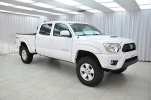 2014 Toyota Tacoma TRD SPORT WITH LEATHER 4.0L 4x4 4DR 5PASS DOU
