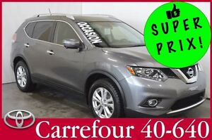 2014 Nissan Rogue SV AWD GPS+Cuir+Camera 360+Toit 7 Passagers