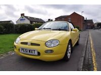MG MGF 1.8 2dr£695MG MGF 1.8 2DR ( NO ADVISORY ON MOT)