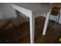 Ikea white extendable dining table BJURSTA IN EXCELLENT CONDITION!