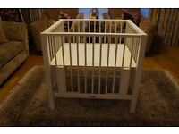 Playpen and cotbed - Excellent make and condition