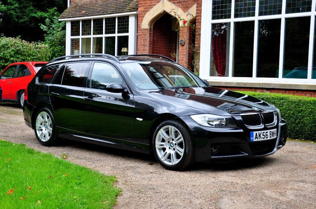 2006 56 bmw 320d m sport touring turbo diesel automatic. Black Bedroom Furniture Sets. Home Design Ideas